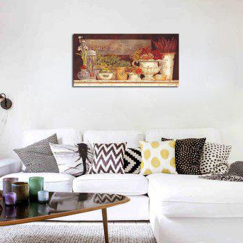 QiaoJiaHuaYuan No Frame Canvas Living Room Bedroom Dining Room Pastoral Landscape Painting - COLORMIX 60CMX120CM