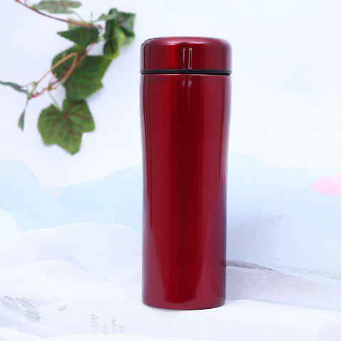 Creative Ceramic Stainless Steel Insulation Cup - RED