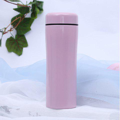 Creative Ceramic Stainless Steel Insulation Cup - PINK
