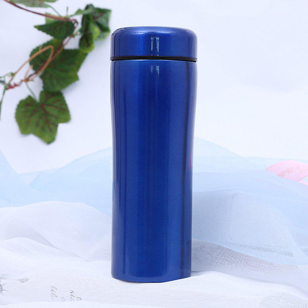 Creative Ceramic Stainless Steel Insulation Cup - BLUE