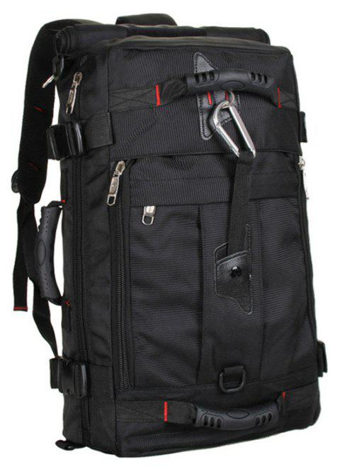 New Large-Capacity Men's  Travel  Shoulder Bag Computer Bag - BLACK
