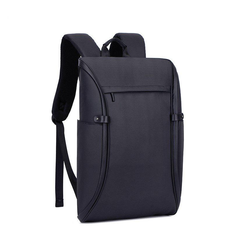 Men Outdoor Waterproof Laptop Backpack - BLACK