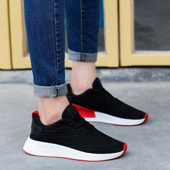 2018 Fashion Sneakers for Female - BLACK 37