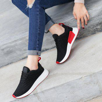 2018 Fashion Sneakers for Female - BLACK 35