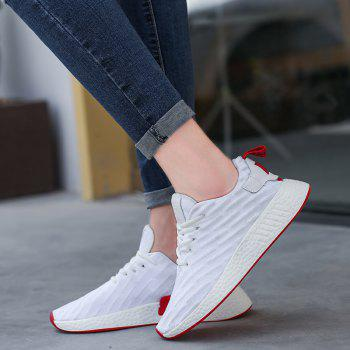 2018 Fashion Sneakers for Female - WHITE 39