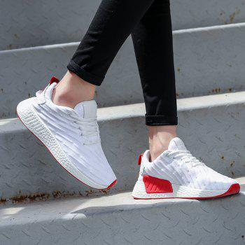 2018 Fashion Sneakers for Female - WHITE 40