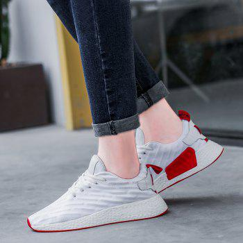 2018 Fashion Sneakers for Female - WHITE 37