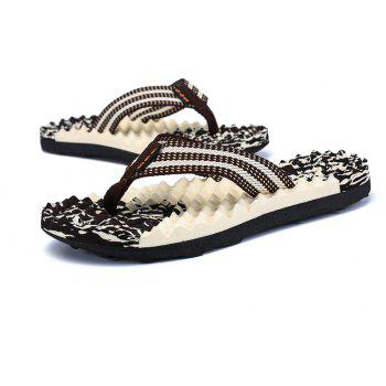 2018 New Arrival Summer Slippers - BROWN 42