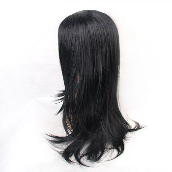 Wigs for Women Black Elegant Long Straight Hair - BLACK