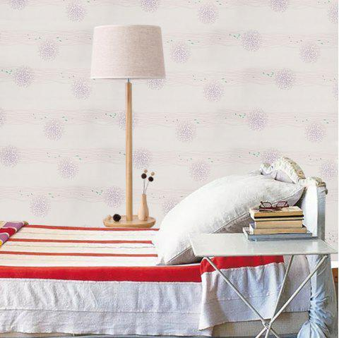 PVC Fashion Printing Home Decorative Wall Stickers - LIGHT PINK 1000*53CM