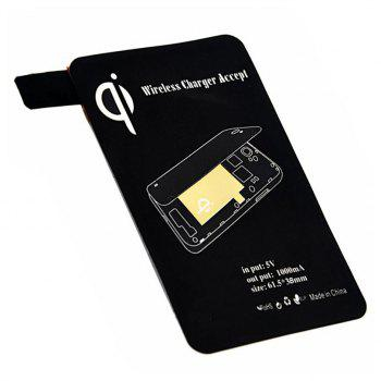 Cwxuan Qi Wireless Charger Transmitter for Samsung Galaxy S5 - BLACK