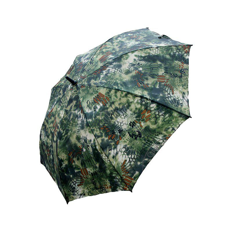 WARCHIEF  27-INCH Rod Python Camouflage Travel Umbrella Fashion Sunny High-End Umbrella - JUNGLE CAMOUFLAGE