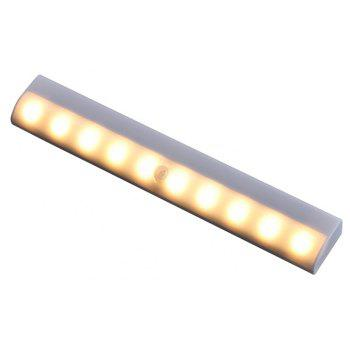 European Style Personality Seminal Hotel Home Study Room Aisle Human Induced Wall Lamp - WHITE WHITE LIGHT