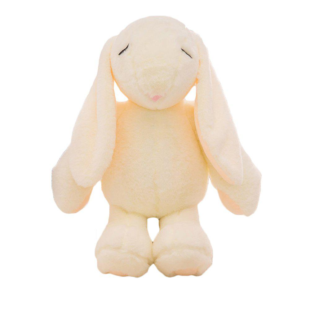 Girl Plush Doll Toy Creative Cute Rabbit Birthday Gift - BEIGE / BEIGE 20X10X38CM
