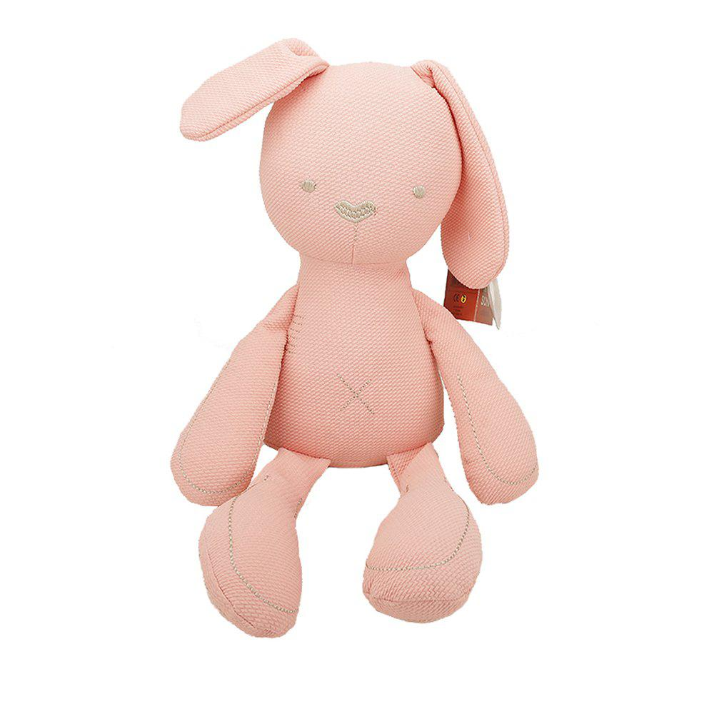 Girl Plush Rabbit Toy Birthday Gift - PINK 70X35X15CM