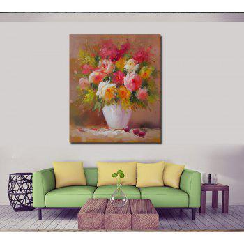HD Printing Modern Decorative Impression Flower Bedroom Living Room Hotel Home Wall Art Painting - RUBY 12 X 16 INCH