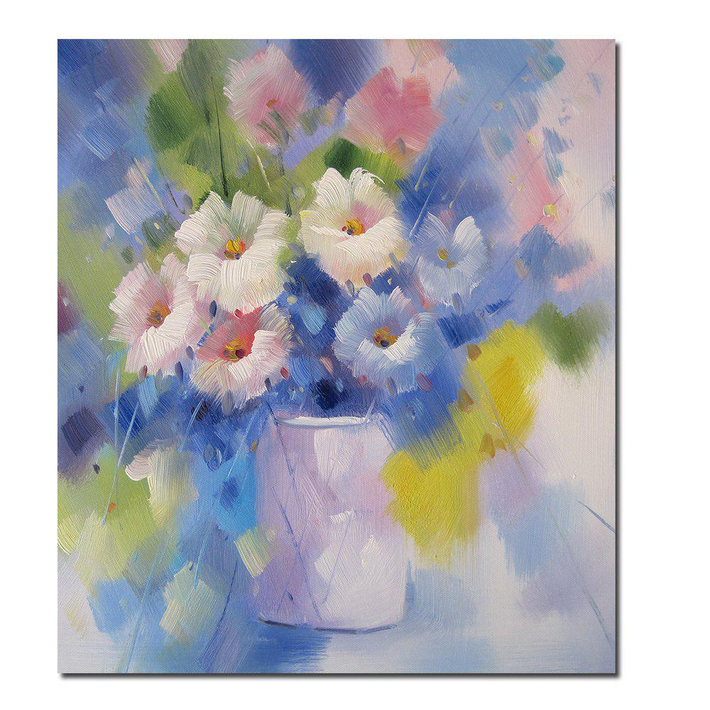 HD Printing Modern Decorative Impression Flower Bedroom Living Room Hotel Home Wall Art Painting - CHARM 12 X 16 INCH
