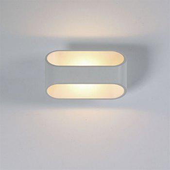 CW502 Fashion Stainless Steel Abrasive LED Wall Lamp - WHITE