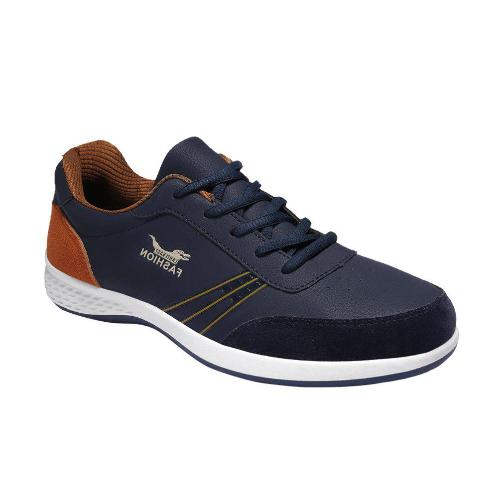 New Men Sports Running Casual Shoes - DEEP BLUE 43