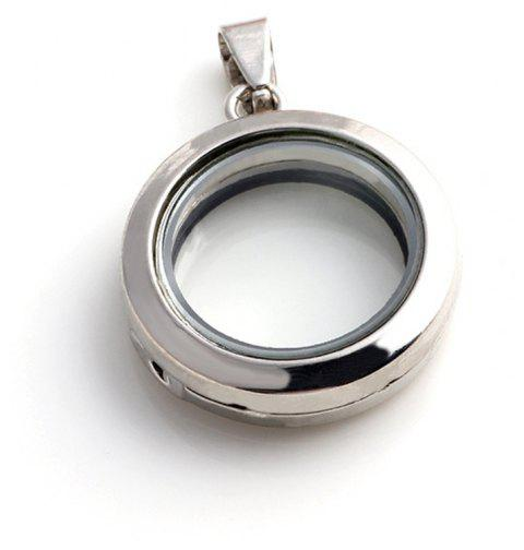 Floating Accessories for Jewelry DIY Pendant - SILVER SIZE 3