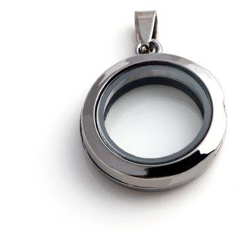 Floating Accessories for Jewelry DIY Pendant - GUNMETAL SIZE 3