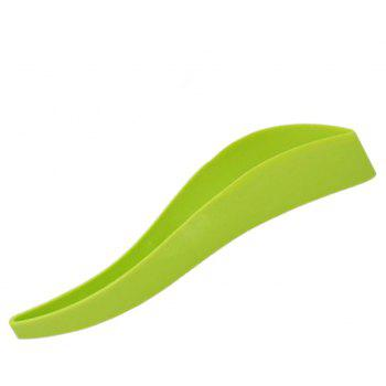 Cutting Cake Cutter and Knives Without Dirty Hands - GREEN 26.5CMX4X4.3CM