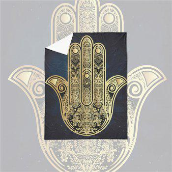 Faith Hand 3D Series Bedding Three and Four Pieces Set AS28 - BLACK GOLD KING