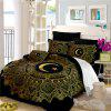 Moon Stars Personality 3D Bedding Series Three and Four Pieces AS29 - BLACK SINGLE