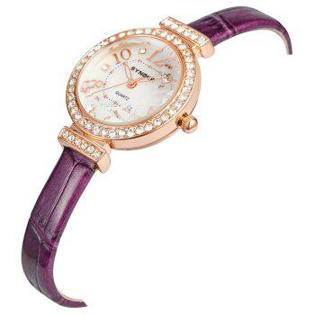 SYNOKE 5206 Female Quartz Watch - PURPLE