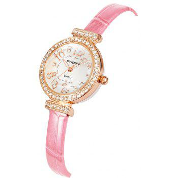 SYNOKE 5206 Female Quartz Watch - PINK