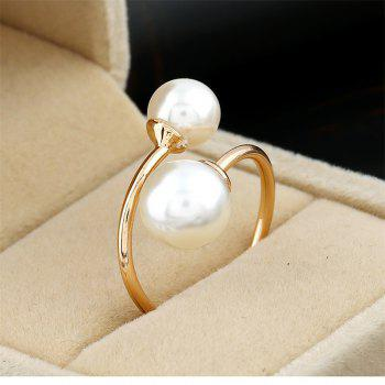 18 New Fashion Simple Creative Hand Ornaments Ring - WHITE ONE-SIZE