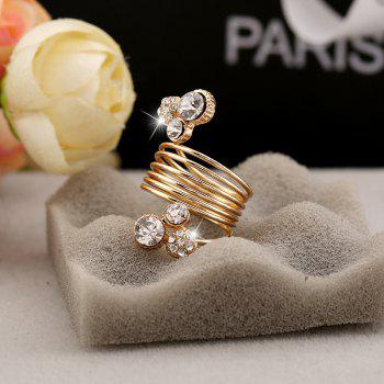 Ladies Spring Personality Fashion Ring - WHITE ONE-SIZE