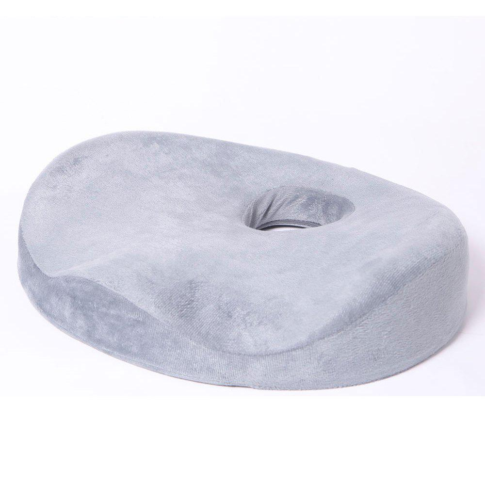 Donut Seat Cushion Comfort Pillow for Hemorrhoids Prostate Pregnancy Post Natal Pain Relief Surgery - GRAY