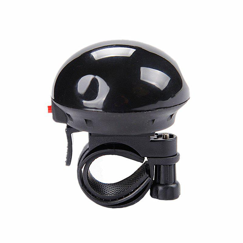 LEADBIKE Bicycle Electric Horn UFO Shape Super Loud Bike Alert Bell Handlebar Ring Horns Cycling Accessories - BLACK