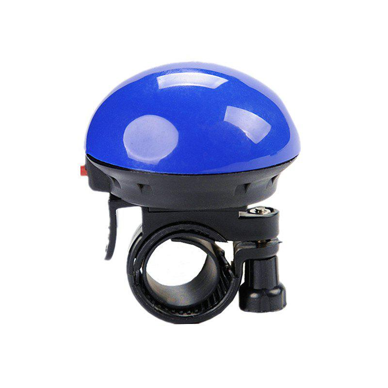 LEADBIKE Bicycle Electric Horn UFO Shape Super Loud Bike Alert Bell Handlebar Ring Horns Cycling Accessories - BLUE