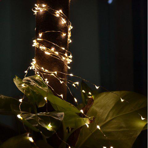 LED Outdoor Waterproof Decorative Light String - WARM WHITE