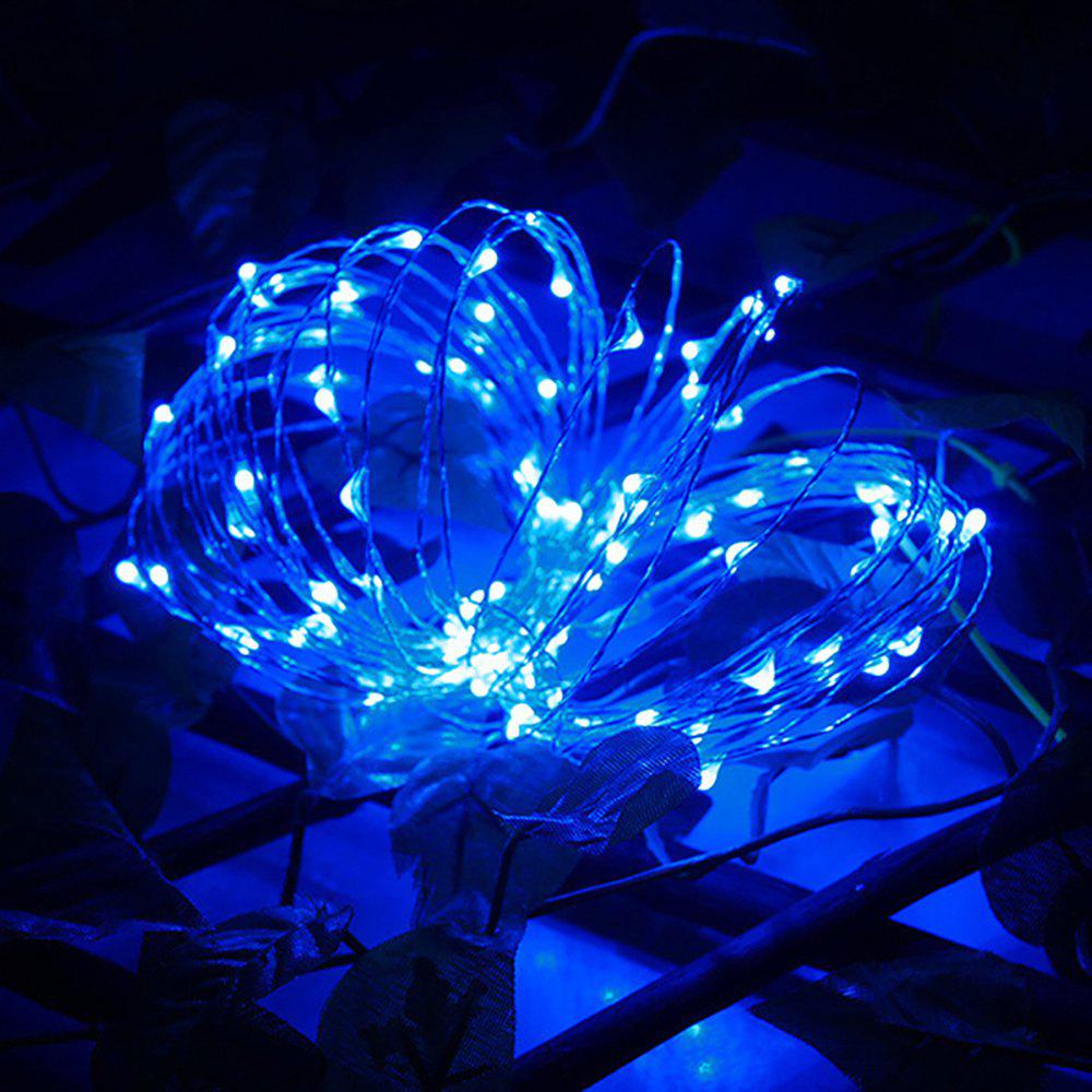 LED Outdoor Waterproof Decorative Light String - BLUE 3M,