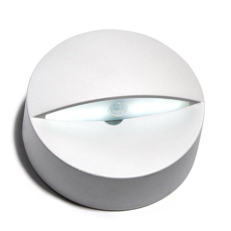 New Exotic Creative Wireless Infrared LED Human Induction Indoor Light - WHITE WHITE LIGHT