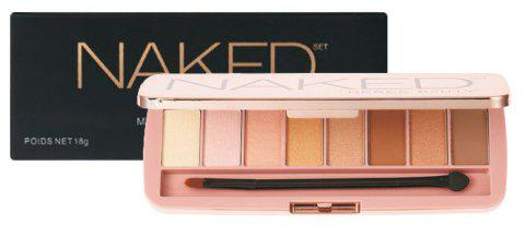 HERES B2UTY Professionnel Mineralize Matte EyeShadow Palette 8 Couleur / 1pc - 11