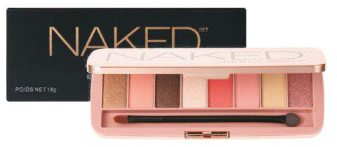 HERES B2UTY Professionnel Mineralize Matte EyeShadow Palette 8 Couleur / 1pc - 14