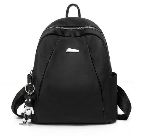 Backpack Fashionable New Style Female Bag - BLACK