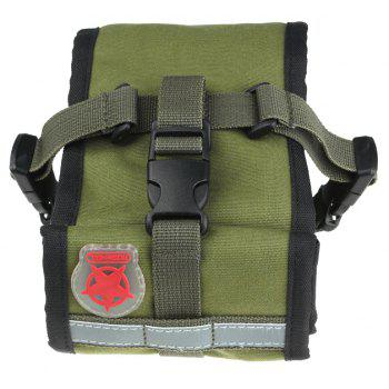 ROWHEEL 13894  Bicycle Tail Bag Saddle Bag - ARMYGREEN