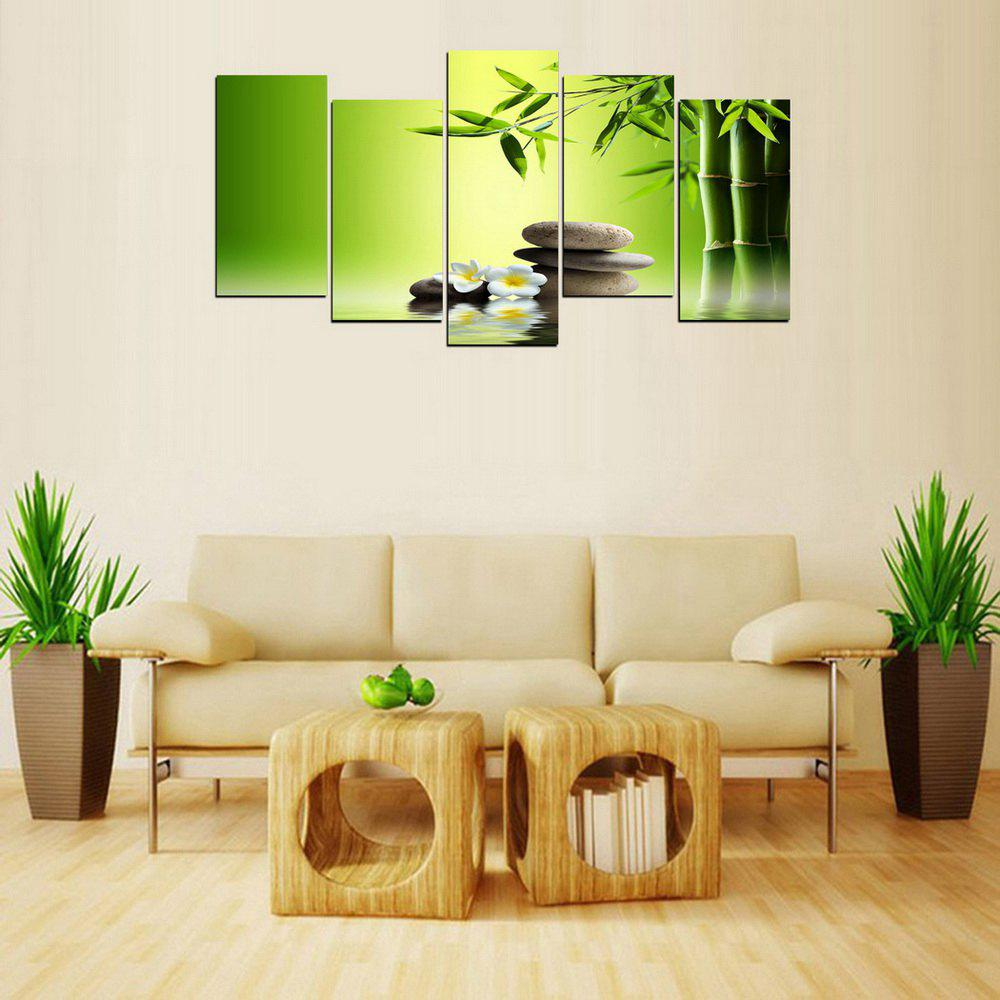 MailingArt FIV236  5 Panels Landscape Wall Art Painting Home Decor Canvas Print - COLORMIX 30X60CM 4PCS  30X80CM 1PC   12X24INCH 4PCS  12X32I