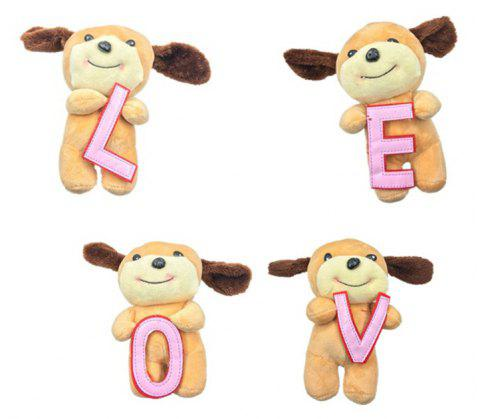Valentine Little Bear Plush Doll 4PCS - BROWN 32CM / 12.6 INCH