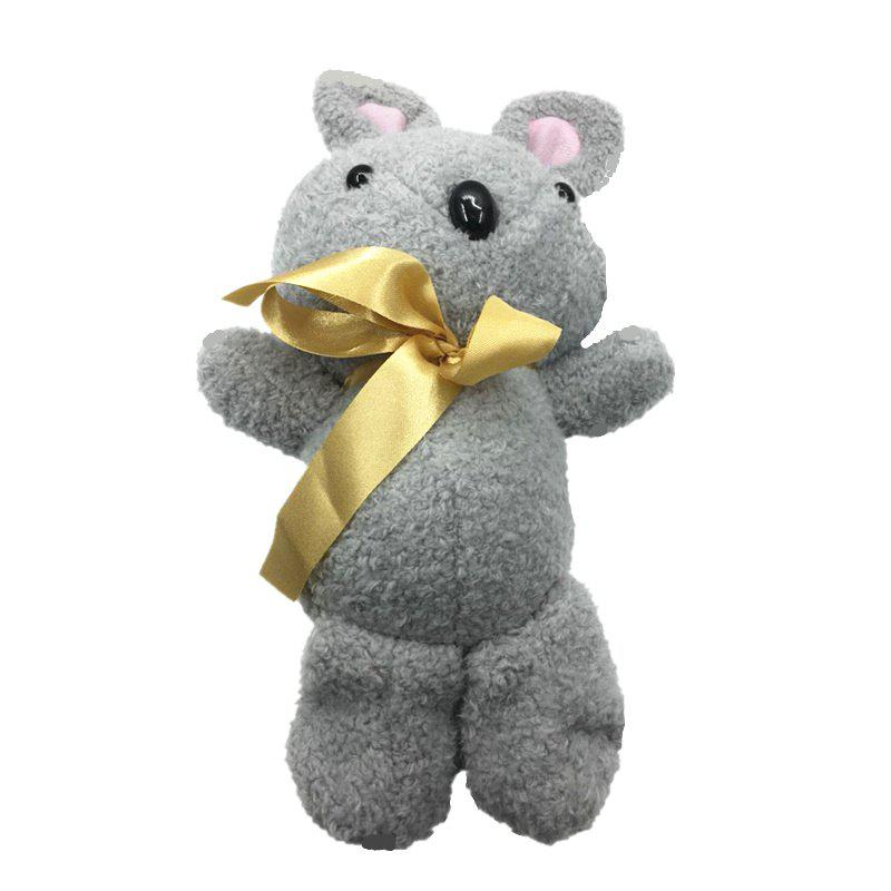 2018 Valentine Day Gift New Shy Butterfly Knot Rabbit Plush Doll - GRAY 32CM / 12.6 INCH