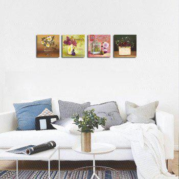 QiaoJiaHuaYuan No Frame Canvas Living Room Bedroom Study Decorated Landscape Print - COLORMIX 40CMX40CMX4