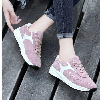 New Comfortable Breathable Female Sports Running Shoes - PINK 37