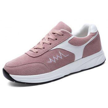 New Comfortable Breathable Female Sports Running Shoes - PINK 35