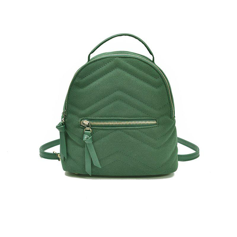 Casual Mini All-match Backpack - GREEN