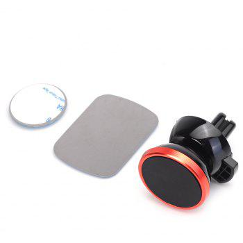 Universal 360 Degree Magnetic Car Air Vent Mount Holder - RED